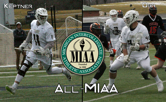 Orr and Keptner Earn All-MIAA Honors
