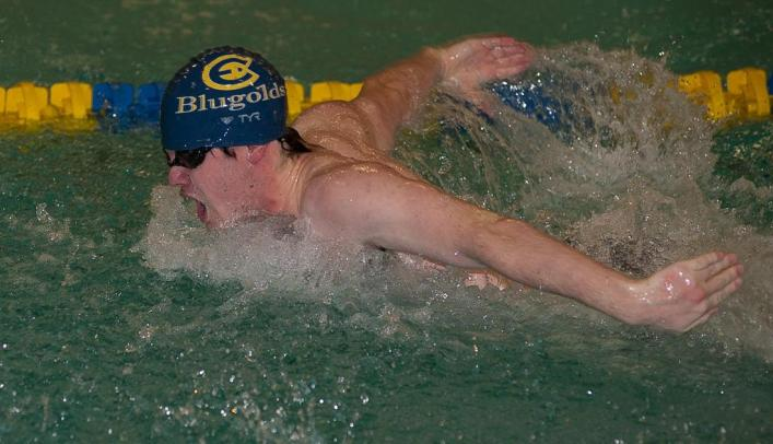 Men's Swimming Competes at Falcon Invite