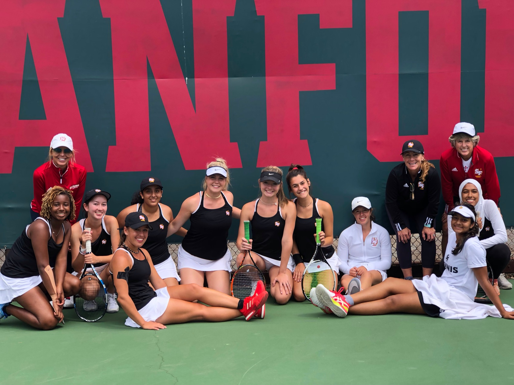 Tennis Finishes Ninth at Golden State Classic