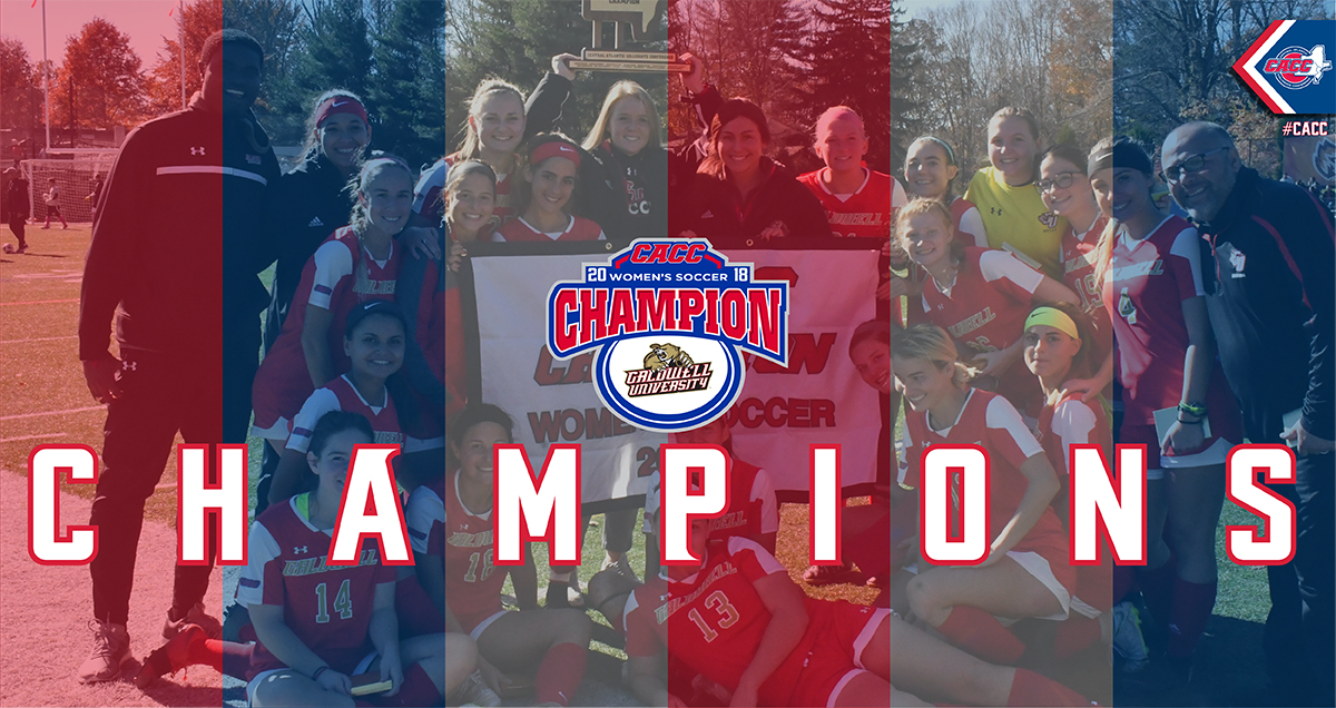 Caldwell Wins Second CACC Women's Soccer Title in Three Years with 2-0 Win over Holy Family on Sunday