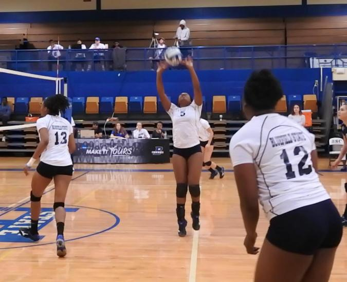 Volleyball Comes Back From Behind to Beat Ohio Valley