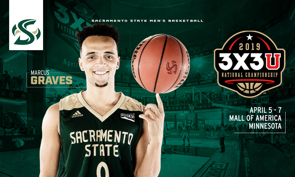 GRAVES SELECTED TO PARTICIPATE IN THE 3X3U NATIONAL CHAMPIONSHIP