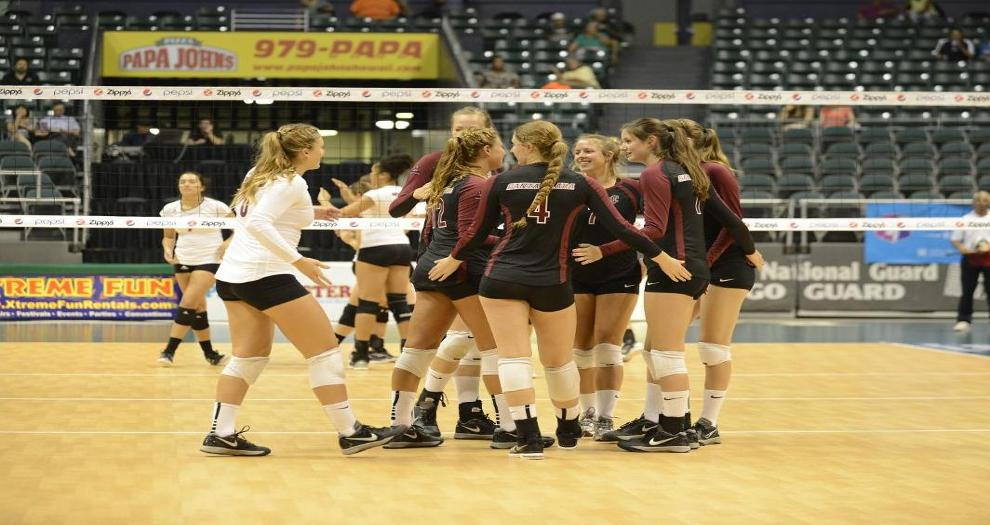 Volleyball Wins At Portland In Four