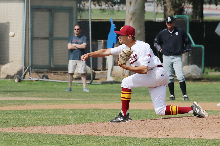 Lancer Gordon Ingebritson hurled a 2-hit, complete game victory Thursday.