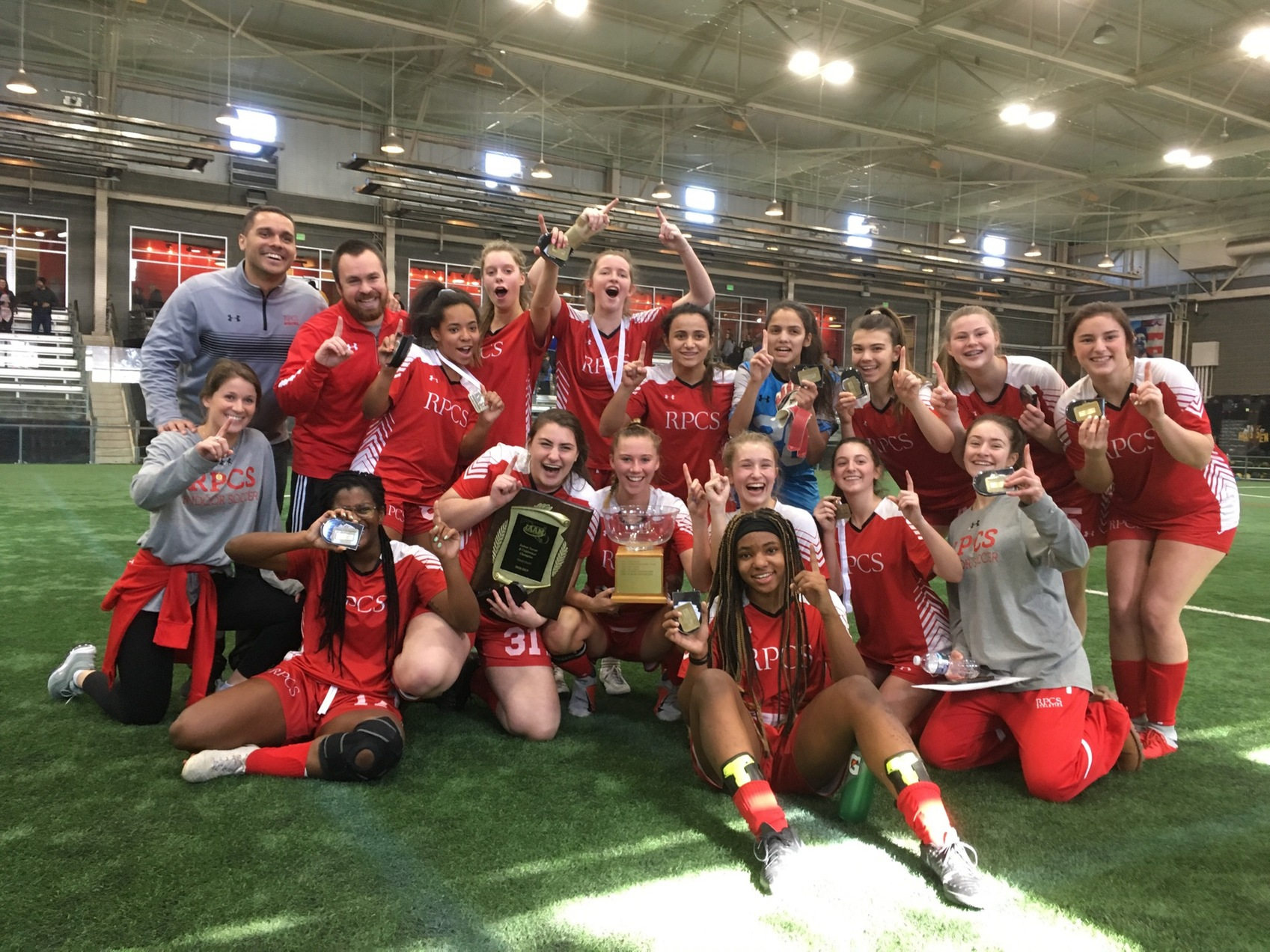 Miraculous rally in final minute propels Roland Park to B Conference crown