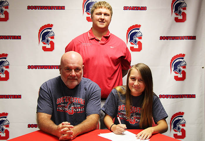 Sitting (L to R): Jeff and Megan Fairchild