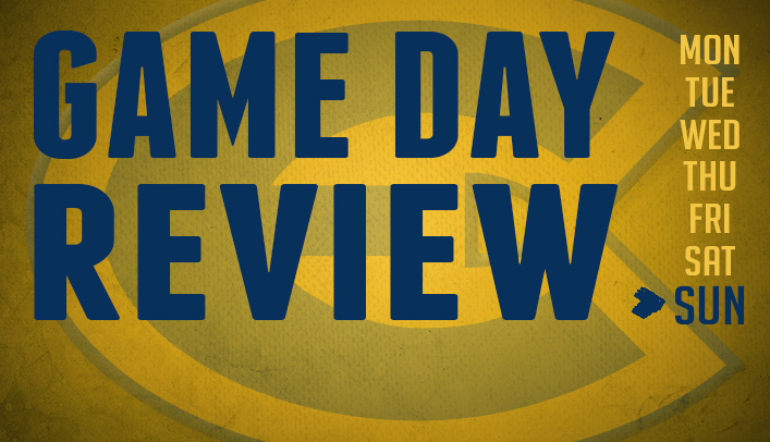 Game Day Review - Sunday, April 27, 2014