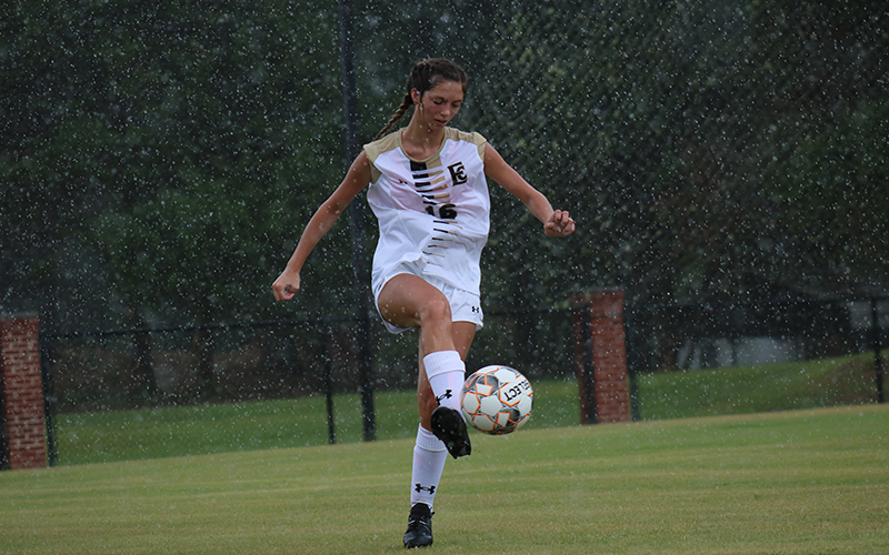 Lady Warrior Soccer Begins Preseason Play with Shutout