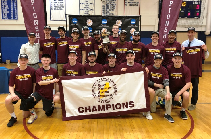 Men's Volleyball: Raiders capture 9th overall GNAC Championship!!!