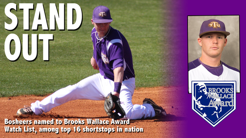Bosheers among 16 named to most recent Brooks Wallace Award Watch List