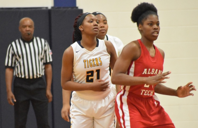 Lady Tigers Drop GCAA Opener to Albany Tech 56-54