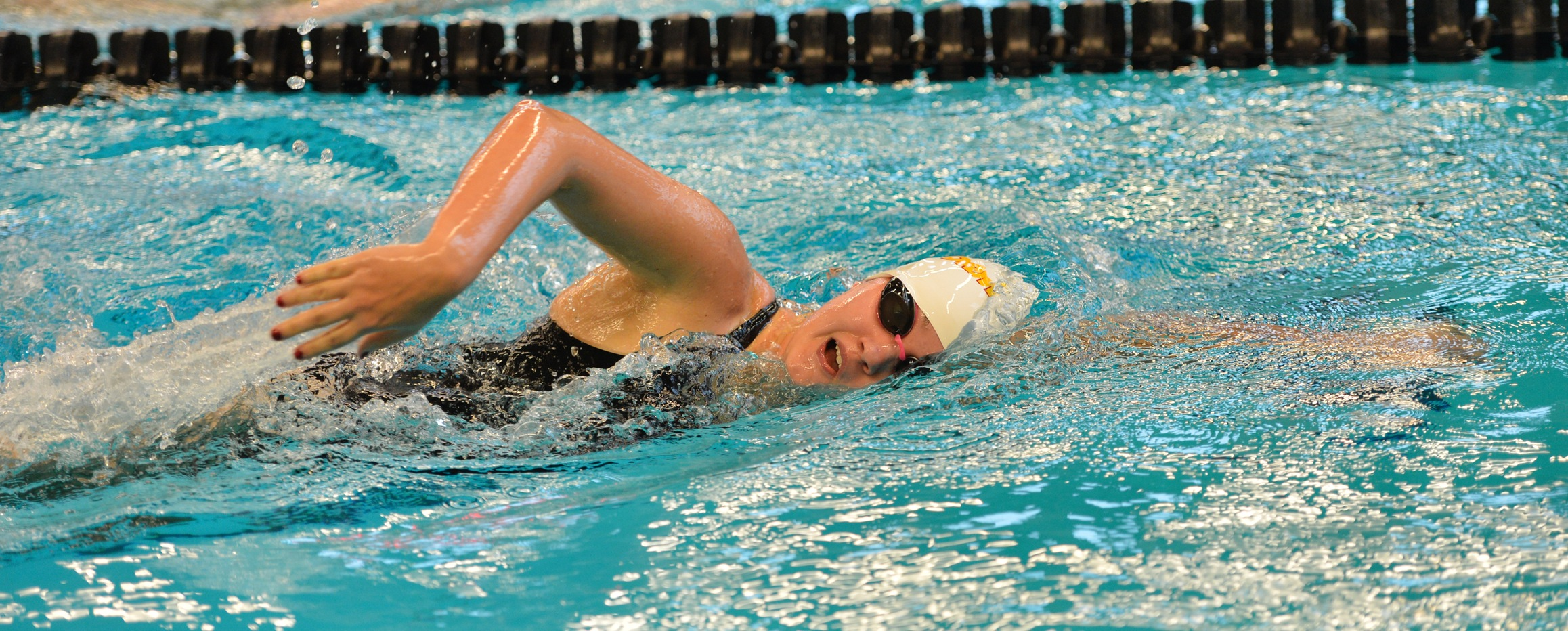 Storm swimmers break 18 school records at Liberal Arts Championships to finish season