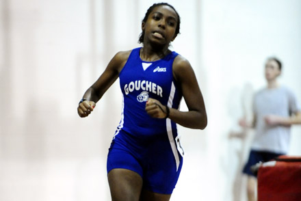 Newman-Blount Breaks Indoor Triple Jump Record