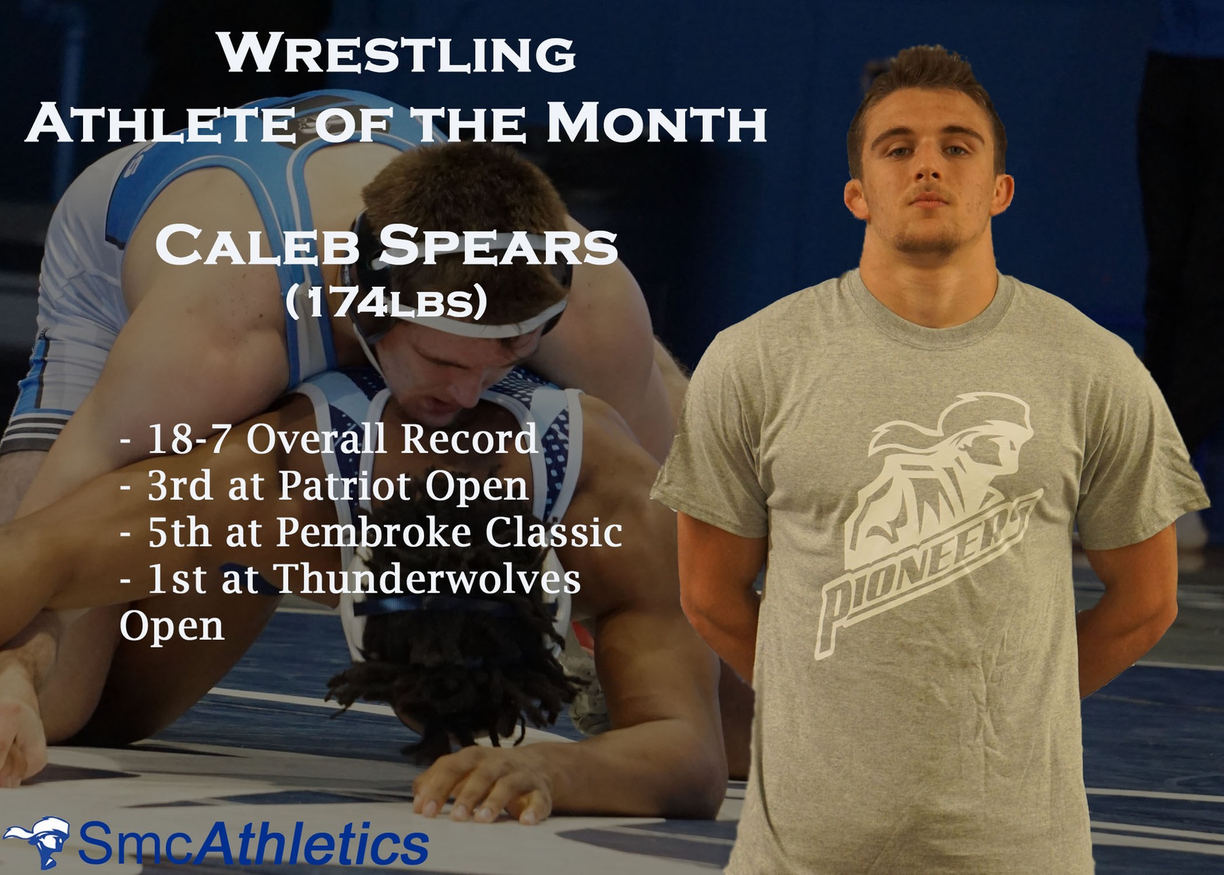 Wrestling Athlete of the Month