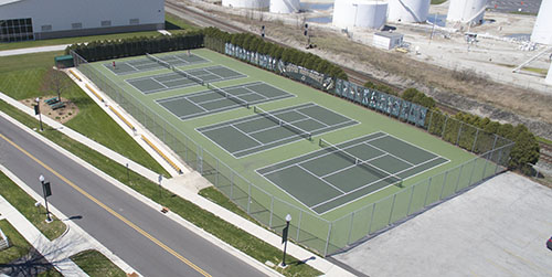 PM Gillmor Tennis Courts