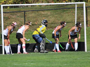 CUA Field Hockey Sweeps Goucher for Landmark Win