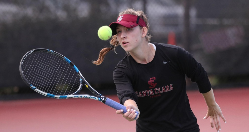 Two Women's Tennis Doubles Teams Advance to Cal Invitational Consolation Bracket Finals
