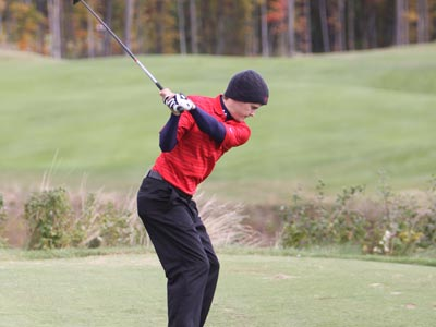 Eric Lilleboe garners GLIAC Men's Golf Athlete of the Week honors four weeks in a row.