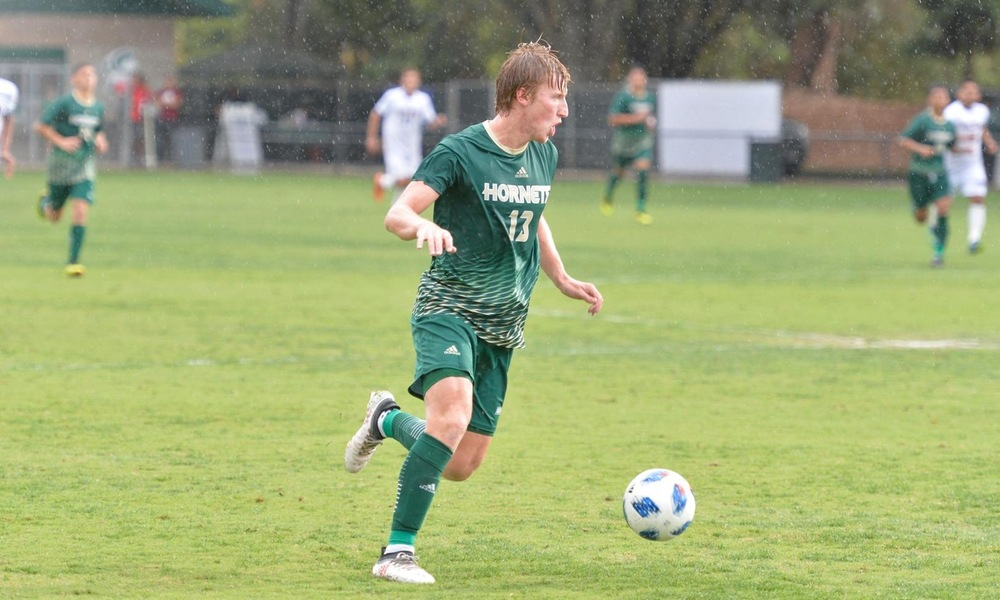 ON RAINY NIGHT, MEN'S SOCCER TAKES DOWN UC SANTA BARBARA, 1-0, IN CONFERENCE OPENER