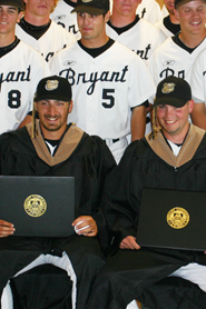 Bryant Conducts Special Baseball Graduation Ceremony For Rocco and Upton