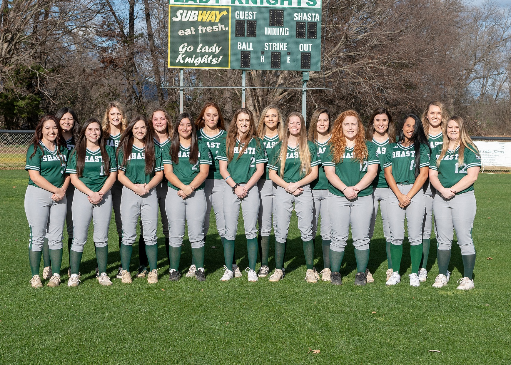 SHASTA COLLEGE SWEPT FOR FIRST TIME THIS SEASON