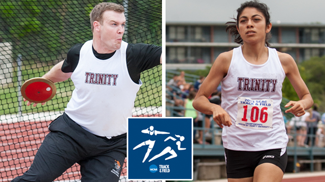 Trinity Track & Field Standouts Finish In Top 20 At NCAA Championships