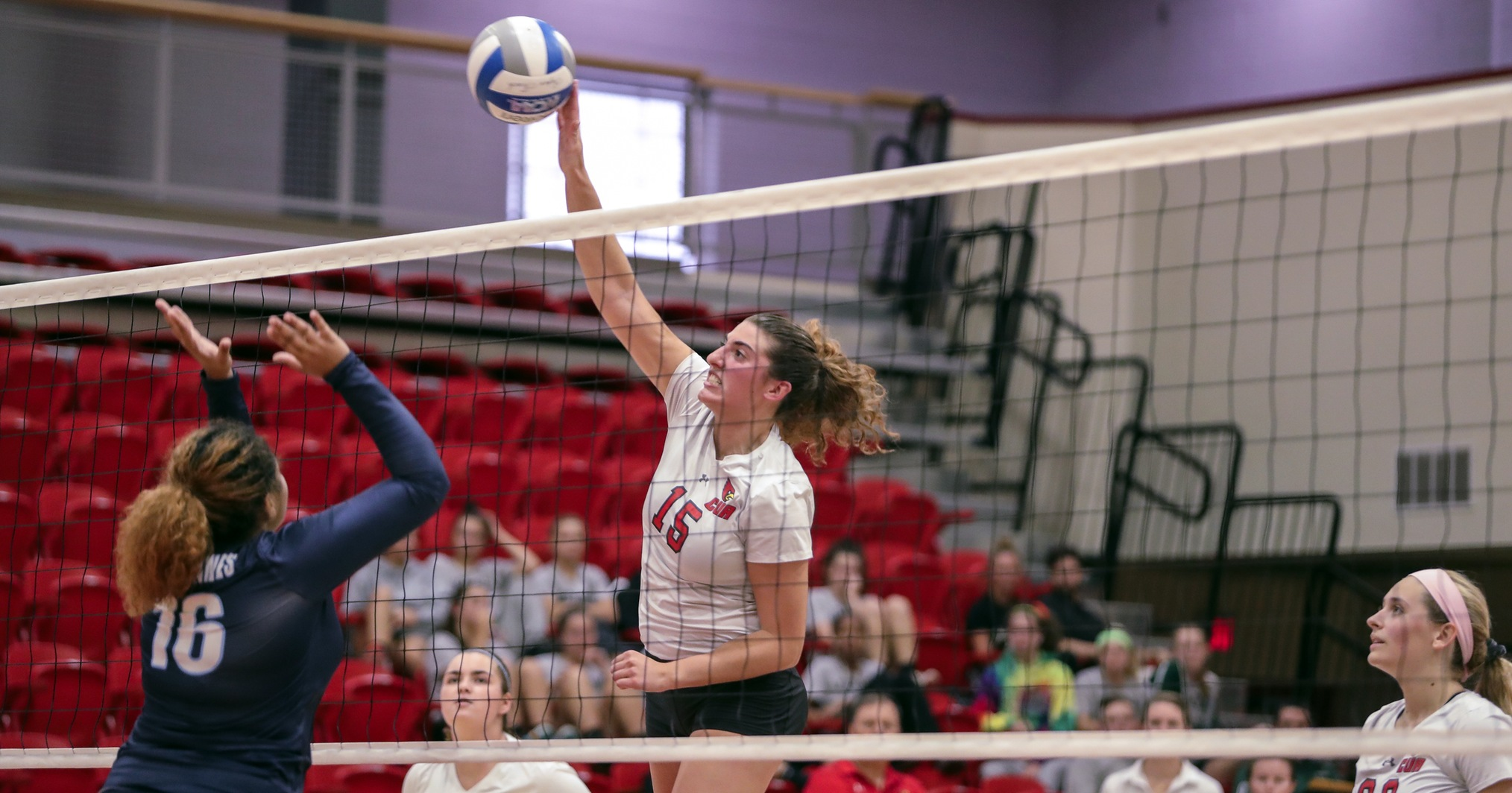 Cardinals Fall to Messiah in Five at Knights Invitational