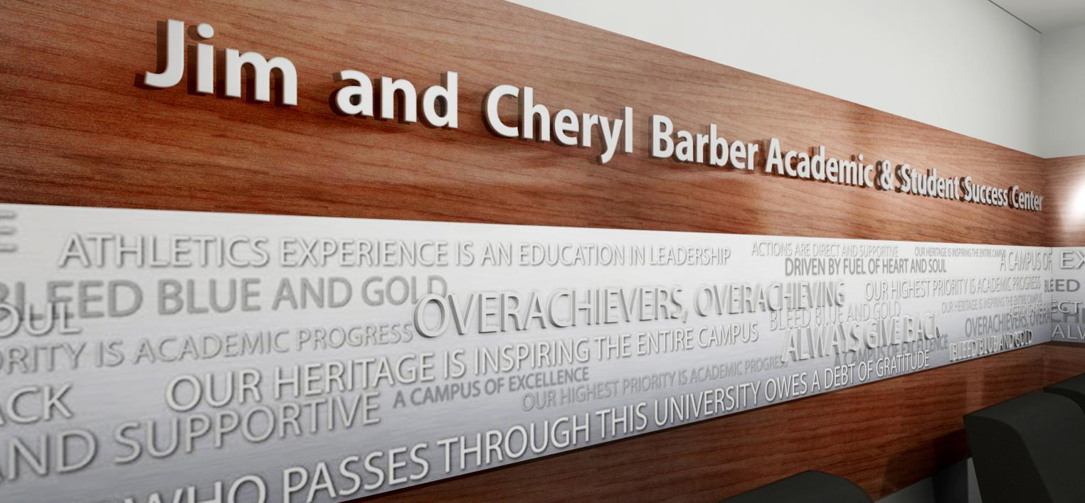 ICA Student-Athlete Support Wing to be Named in Honor of Jim and Cheryl Barber