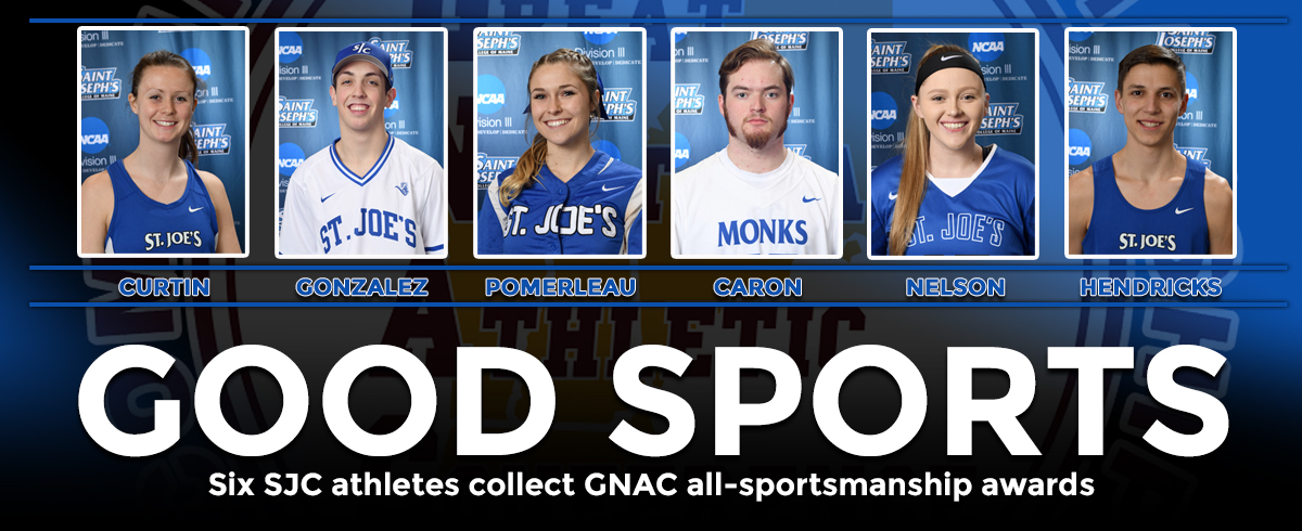 Six SJC Athletes Collect GNAC All-Sportsmanship Awards