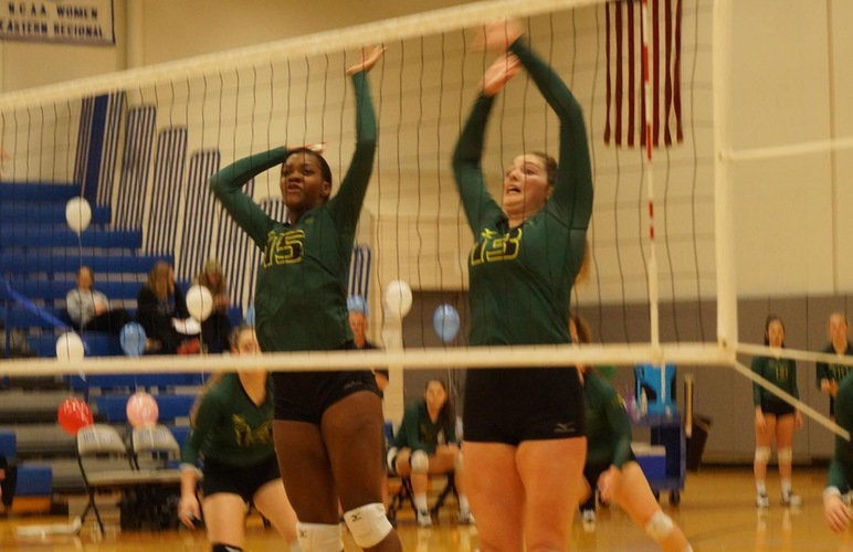 Volleyball Beats Cazenovia in Dual Match at Alfred State to Finish Reguar Season