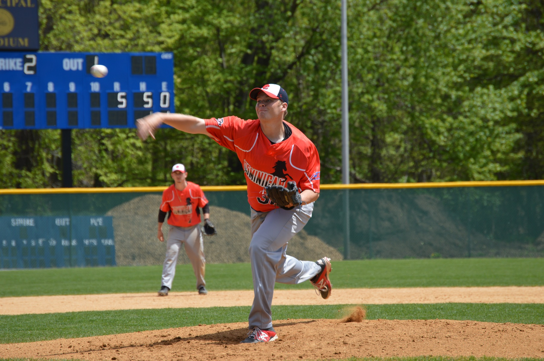 RASALLA THROWS SECOND SHUT OUT OF TOURNAMENT AS BASEBALL ADVANCES TO CACC CHAMPIONSHIPS