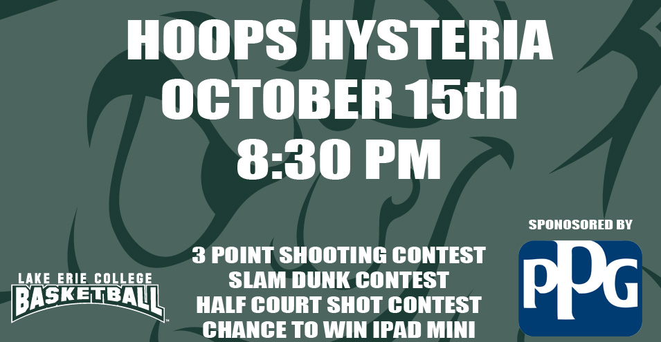 Storm Basketball to Host Hoops Hysteria October 15th