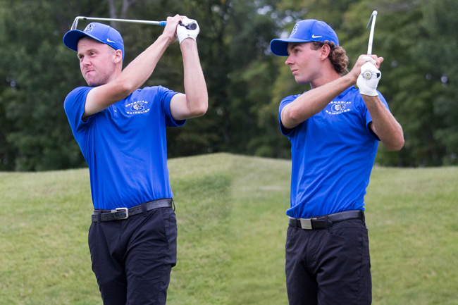 GRIZZLIES GOLFERS HAVE STRONG SHOWING AT GEORGIAN INVITATIONAL