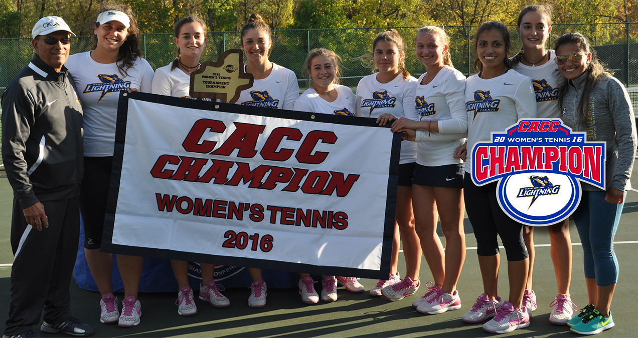 Goldey-Beacom Claims First CACC Women's Tennis Championship with 5-1 Win over Post