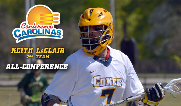 LaClair Named Second Team All-Conference