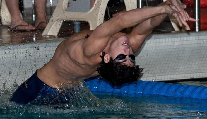 Men's Swimming & Diving Victorious over Oshkosh