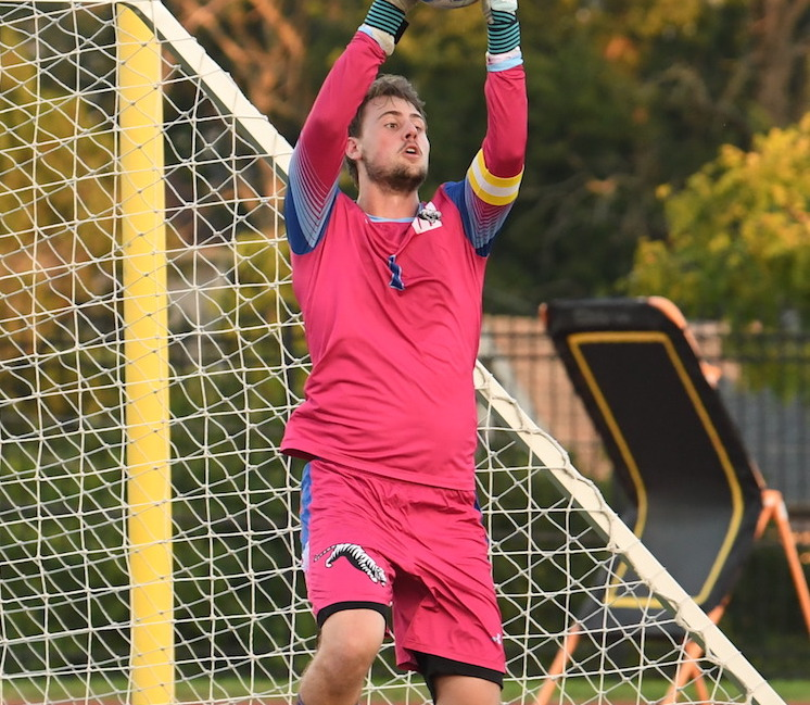 Wittenberg senior goalie Jack Snider made four saves in the Tigers' 2-0 road loss at Oberlin