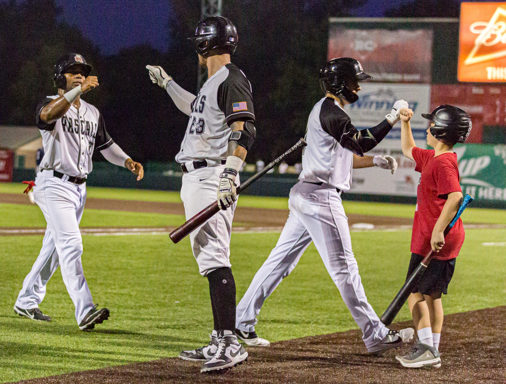 Rascals Blast Otters in Playoff Opener