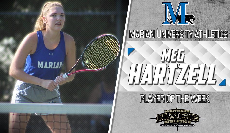 Meg Hartzell Player of the Week graphic.