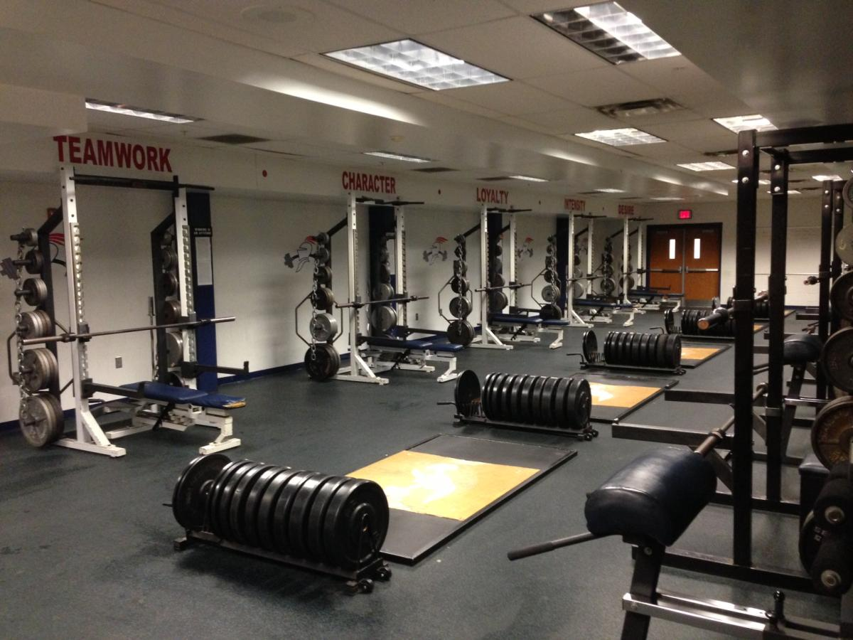 Weight Room - Riverwood High School