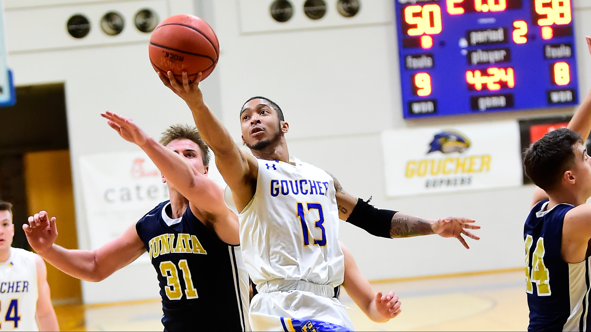 Goucher Men's Basketball Foiled At Drew