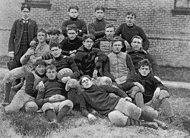Photo of 1898 football team