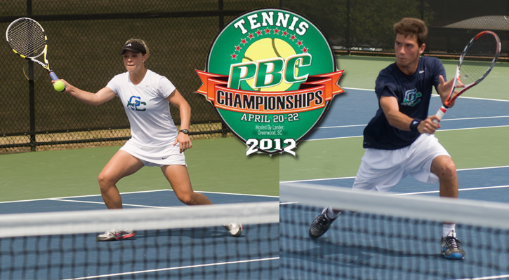 GC Men's and Women's Tennis Each Seeded Fifth Heading into PBC Tourney