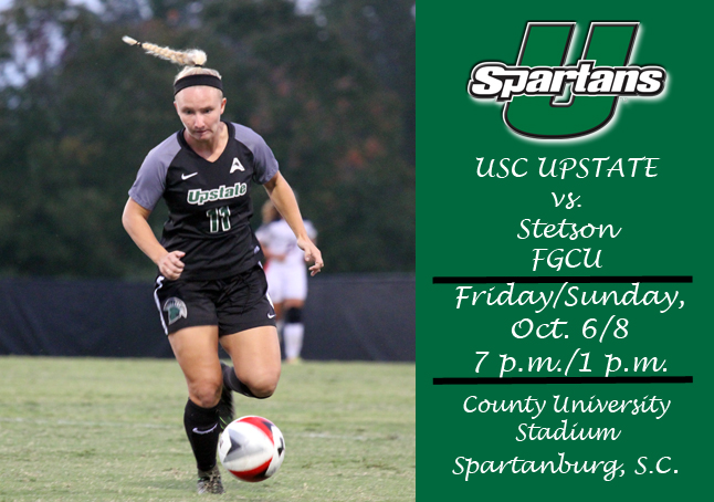 Spartans Return Home to Face Stetson, Florida Gulf Coast