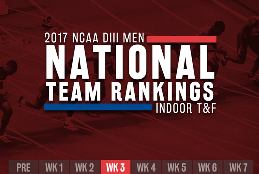 USTFCCCA Men's Indoor Track & Field Rankings