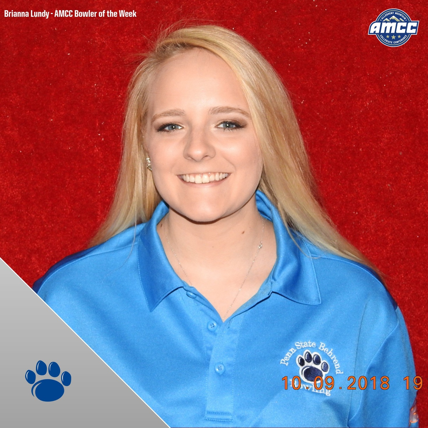 Lundy Named AMCC Bowler of the Week