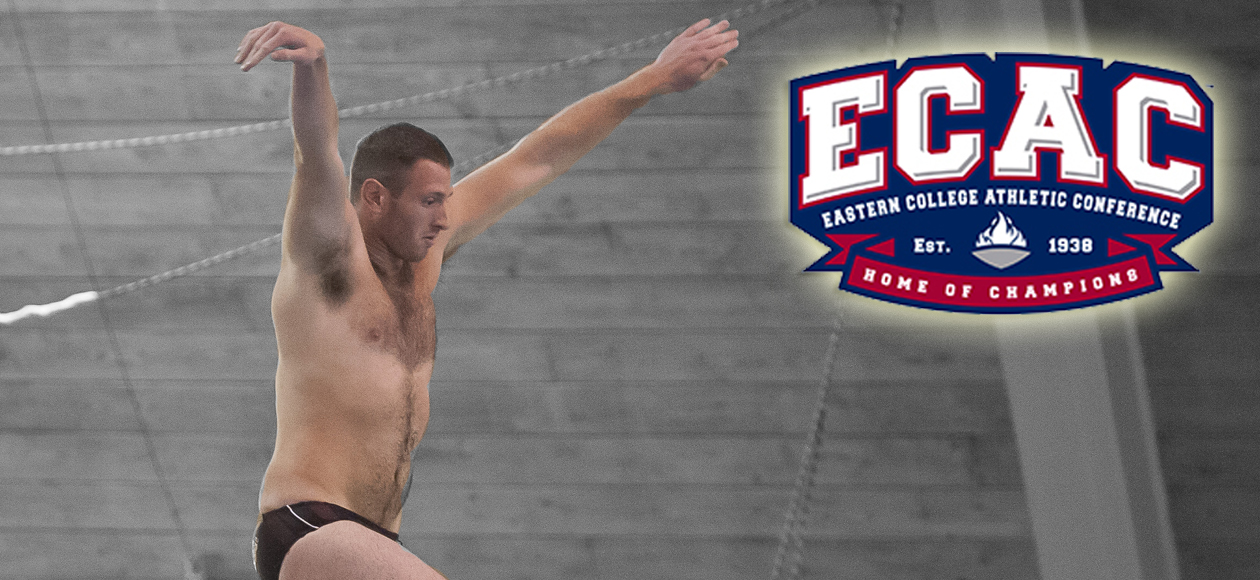 Lewis Earns ECAC Division III New England Diver of the Week Honors