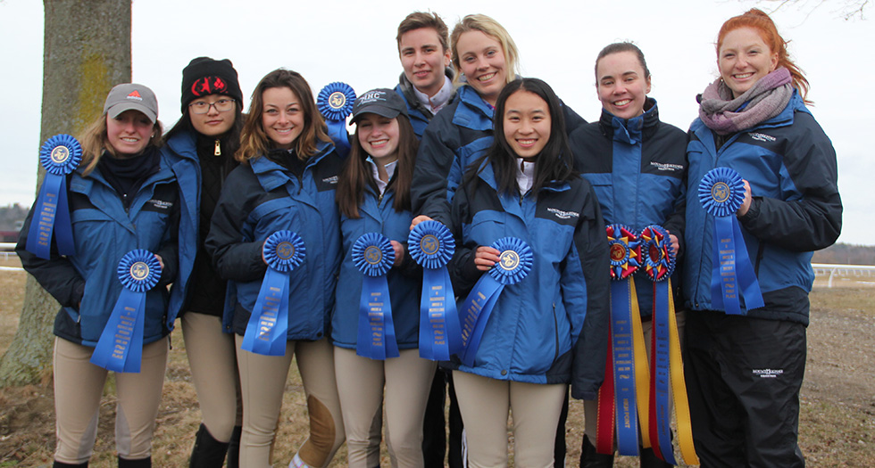 All of Sunday's blue ribbon winners from the UMass/Hampshire Show