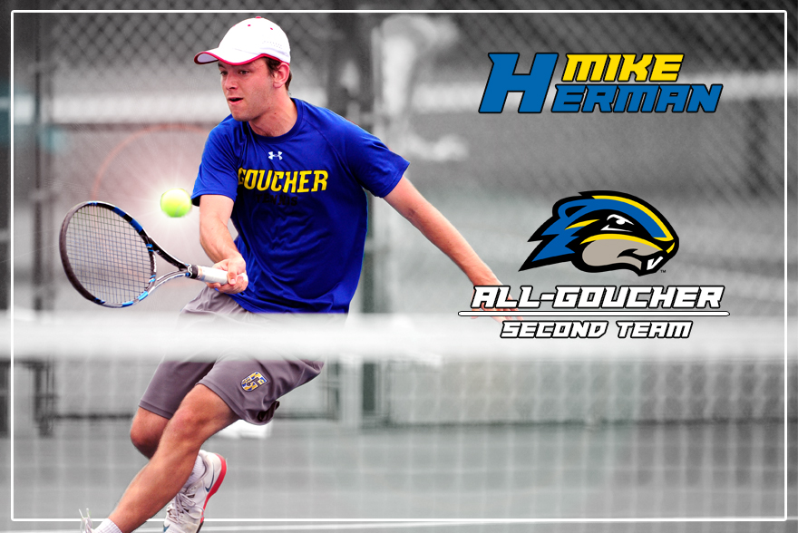 Herman Continues Successful Freshman Year as All-Goucher Second Team Honoree