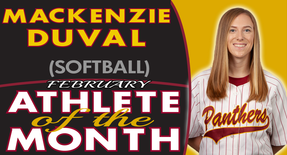 Mackenzie Duval named the SCC February Female Athlete of the Month